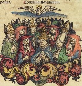 Concilium Florentinum - Kronika Norymberska