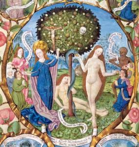"""Berthold Furtmeyer, """"Drzewo śmierci i Drzewo życia"""" (Maryja jako nowa Ewa)"""