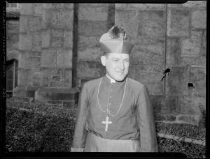 Kard. Richard Cushing, oskarżony przez o. Feeney'a o herezję, adresat listu Świętego Oficjum.