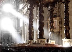 Bazylika św. Piotra, w której odbywały się obrady Soboru.