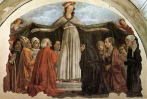 "Domenico Ghirlandaio, ""Matka Miłosierdzia"""