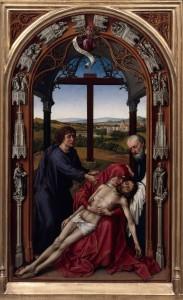 "Rogier van der Weyden, ""Zdjęcie z krzyża"""