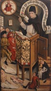 """Friedrich Walther, """"Kazanie św. Alberta Wielkiego"""""""